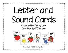 Free!! Letter and Sound Cards!  Short/long vowels, r controlled vowels, blends, etc.