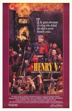#133 Henry V 1989 (Dir. Kenneth Branagh. With Kenneth Branagh, Emma Thompson, Derek Jacobi, Ian Holm, Brian Blessed)