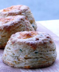 Cheddar Cheese, Dill and Chive Biscuits