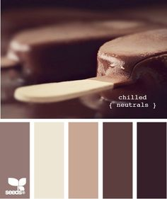 chilled neutrals ...add brick red to this and it would be perfect for the living room