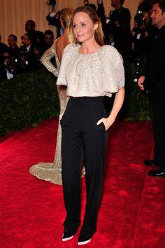 Stella McCartney  Wearing Stella McCartney.