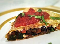 Black Bean & Kale Quesadillas (http://www.yumuniverse.com/2012/06/20/gluten-free-and-dairy-free-black-bean-kale-quesadillas/)