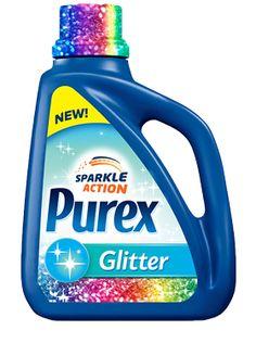 OMG Glitter Purex ... Glitter All Your Clothes!!!