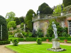 The Orangery Terrace at Powis Castle. Source: The Galloping Gardener