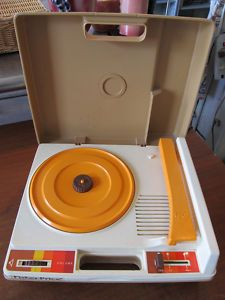 Fisher price record player!