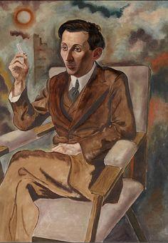 Georg Grosz (German, 1893 – 1959) - The writer Walter Mehring, 1925