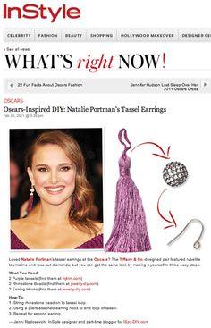 More tassel earrings. #diy