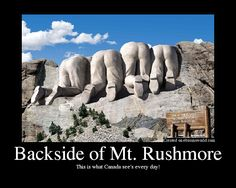 mount rushmore from canada - Google Search