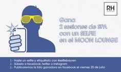 Participa en nuestro concurso #selfiebayren y gana 2 sesiones de SPA!! El ganador lo publicaremos el viernes que viene. ¡¡Esperamos vuestro selfie!!