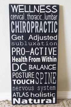 Chiropractic :)