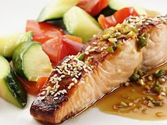 brown rice, heart healthy meals, food, healthy fish recipes, healthy diet recipes, heart healthy recipes, broil salmon, salmon recipes, honey