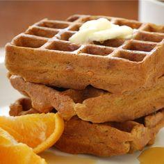 Gingerbread Waffles (recipe: http://di.sn/k75)