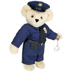 "15"" Police Officer Bear from Vermont Teddy Bear. $79.99 #Graduation"