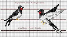 Free cross stitch pattern!