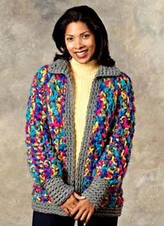 Free Crochet Pattern: Crochet Catskills Jacket