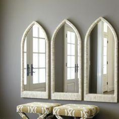 Bone Arched Mirror | Ballard Designs