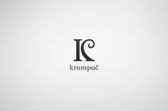 Krampač by Črtomir Just, via Behance