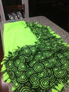 No sew fleece blanket!!!