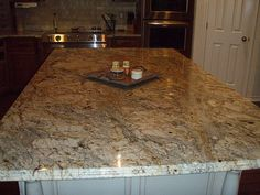 Kitchen Cabinets Colors With Siena Bordeaux Granite