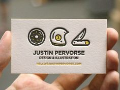 graphic design, creative business cards, card designs, bid card, ident, business card design, justin pervors, busi card, brand