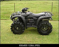 Four Wheeler ~ just to have it for the boys and the kids.