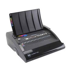 The GBC CombBind C20E Plastic Comb Binding Machine offers faster, easier, and better binding for medium to large offices that need to bind their own documents. The GBC C20E has an electric punch that can punch up to 20 sheets at once, and can bind up to 320 sheets. The CombBind C20E can handle both CombBind and editable ZipBind spines, making it efficient to use either binding method.