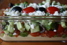 6-Layer Greek Dip