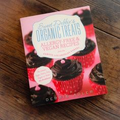 Cookbook review: Sweet Debbie's Organic Treats by Debbie Adler | Allergy-free, vegan, gluten-free | Reviewed by Recipe Renovator