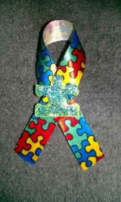 autism awareness pin