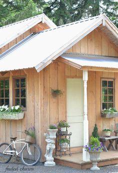 Dream garden shed!