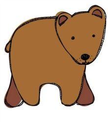 3 Brown bear freebies (literacy & math)