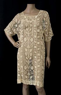 1920s lace tunic
