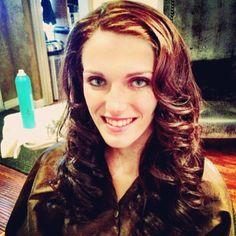 hair, long curly hair, bridal hair, long waves hair, hair in San Diego