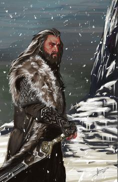 Thorin Oakenshield - The Hobbit by ~JBarrero on deviantART