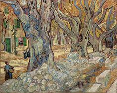 """Van Gogh, """"Road Menders"""" (1889)"""
