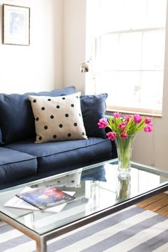Switch up your living room for little to no money w/ these tips form Apartment Therapy