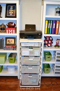 The O.C.D. Life: My Elfa Office Dresser!