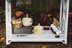 The Society Social Worth Bar Cart via the Glitter Guide-- An Elegant Thanksgiving.