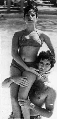 Barbra Streisand & Elliott Gould.