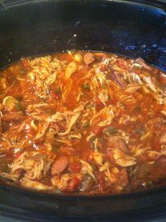 Jambalaya in the Crock Pot