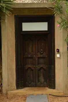 Door love at the Dune Pondicherry door