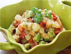 Zesty Lime Shrimp Avocado Salad