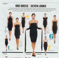 the DK infinity dress
