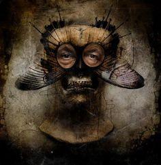 """Art © Seth Siro Anton - """"The dEathwatcher part III"""""""
