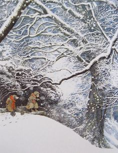 """""""The Wind in the Willows"""" illustrated by Inga Moore"""