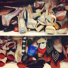 Is there such a thing as too many shoes? #hellno
