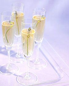 For the ultimate way to unwind and #relax, try adding a touch of aromatic #lavender to your bubbly.