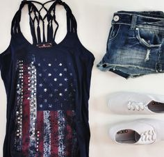 cowgirl boots, cowboy boots, summer outfit, fourth of july, 4th of july, summer country outfit, shoe, tank, shirt