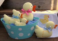 "In The Hoop :: Softie Toys :: Duckie Softies - Embroidery Garden | Unique ""in the hoop"" machine embroidery design files"