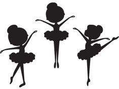 Silhouette Ballerina Clip Art | Meylah